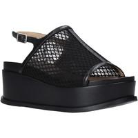 Παπούτσια Γυναίκα Σανδάλια / Πέδιλα Apepazza S0CHER04/NET Μαύρος