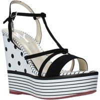 Παπούτσια Γυναίκα Σανδάλια / Πέδιλα Manila Grace S605LP Μαύρος