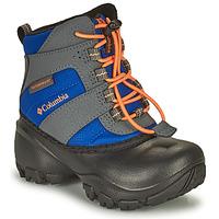 Παπούτσια Παιδί Snow boots Columbia CHILDRENS ROPE TOW Μπλέ / Orange