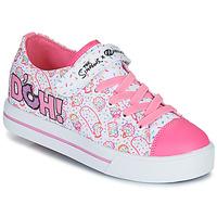 Παπούτσια Παιδί roller shoes Heelys Snazzy Άσπρο / Ροζ / Lavande