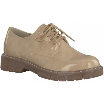 Derbies Marco Tozzi Rose Patent Casual Low Heel Fl
