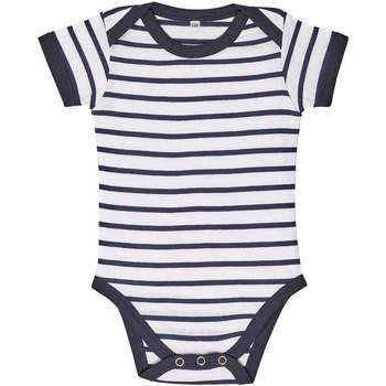 Υφασμάτινα Παιδί Σετ Sols Body bebé a rayas Azul