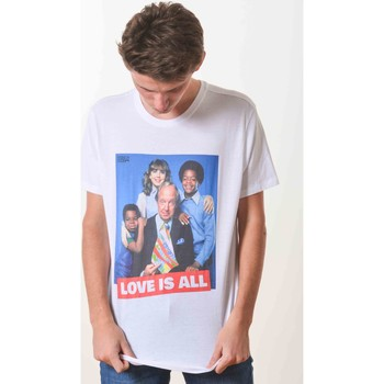 T-shirt με κοντά μανίκια French Dude Love Is All