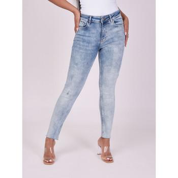 Υφασμάτινα Γυναίκα Skinny jeans Project X Paris  Μπλέ
