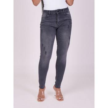Υφασμάτινα Γυναίκα Skinny jeans Project X Paris  Grey