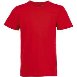 Υφασμάτινα Παιδί T-shirt με κοντά μανίκια Sols CAMISETA DE MANGA CORTA Rojo