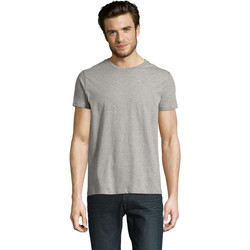 Υφασμάτινα Άνδρας T-shirt με κοντά μανίκια Sols CAMISETA DE MANGA CORTA Gris
