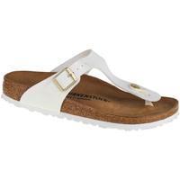 Παπούτσια Γυναίκα Σαγιονάρες Birkenstock Gizeh BF Blanc