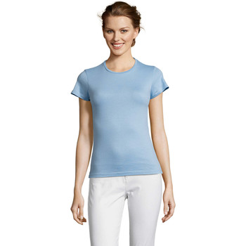 T-shirt με κοντά μανίκια Sols Miss camiseta manga corta mujer