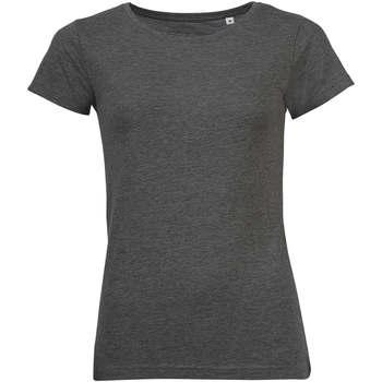 T-shirt με κοντά μανίκια Sols Mixed Women camiseta mujer