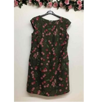 Υφασμάτινα Γυναίκα Κοντά Φορέματα Fashion brands CERISIER-1533-KAKI Kaki