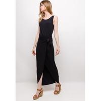 Υφασμάτινα Γυναίκα Μακριά Φορέματα Fashion brands ERMD-1682-NEW-NOIR Black