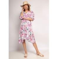 Υφασμάτινα Γυναίκα Κοντά Φορέματα Fashion brands 9471-ROSE Ροζ