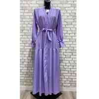 Υφασμάτινα Γυναίκα Μακριά Φορέματα Fashion brands 2155-LILAS Lilas