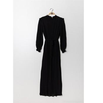 Υφασμάτινα Γυναίκα Μακριά Φορέματα Fashion brands 9805-NOIR Black