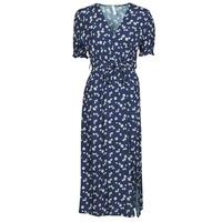 Υφασμάτινα Γυναίκα Κοντά Φορέματα Fashion brands 11118-BLEU Marine