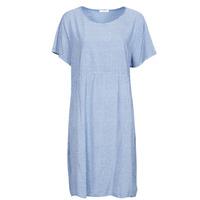 Υφασμάτινα Γυναίκα Κοντά Φορέματα Fashion brands 2198Z-BLEU Kaki