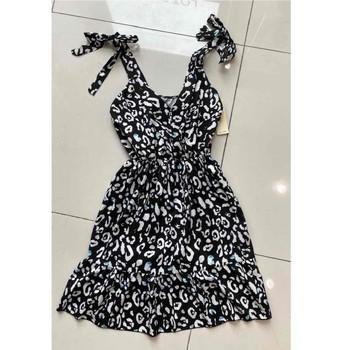 Υφασμάτινα Γυναίκα Κοντά Φορέματα Fashion brands 5165-NOIR Black