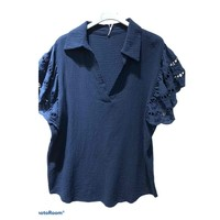Υφασμάτινα Γυναίκα Μπλούζες Fashion brands 310311-NAVY Marine