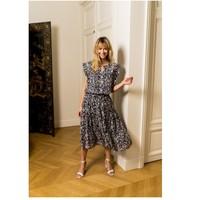 Υφασμάτινα Γυναίκα Μπλούζες Fashion brands CK08138-MARINE Marine
