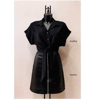 Υφασμάτινα Γυναίκα Μπλούζες Fashion brands ERMD-13819-N-BLACK Black