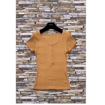 Υφασμάτινα Γυναίκα Μπλούζες Fashion brands HS-2863-BROWN Brown