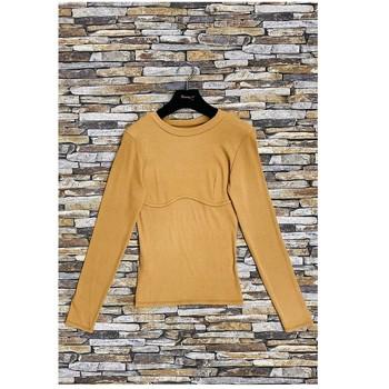 Υφασμάτινα Γυναίκα Μπλούζες Fashion brands HD-2813-N-BROWN Brown