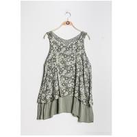 Υφασμάτινα Γυναίκα Μπλούζες Fashion brands 9673-KAKI Kaki