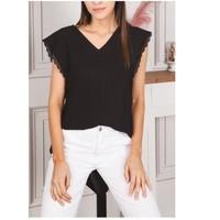 Υφασμάτινα Γυναίκα Μπλούζες Fashion brands F2106-BLACK Black