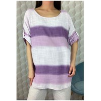Υφασμάτινα Γυναίκα Μπλούζες Fashion brands 156485V-LILAC Lila