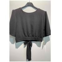 Υφασμάτινα Γυναίκα Μπλούζες Fashion brands 5172-BLACK Black