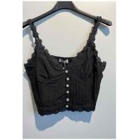 Υφασμάτινα Γυναίκα Μπλούζες Fashion brands 6133-BLACK Black
