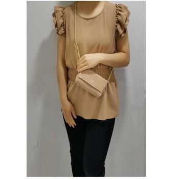 Υφασμάτινα Γυναίκα Μπλούζες Fashion brands 3101-CAMEL Camel