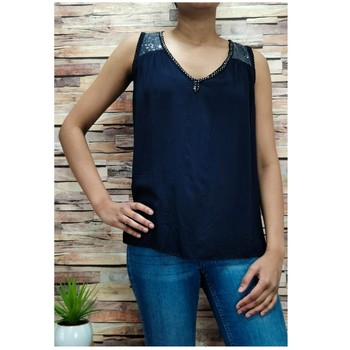 Υφασμάτινα Γυναίκα Μπλούζες Fashion brands 2940-BLACK Black
