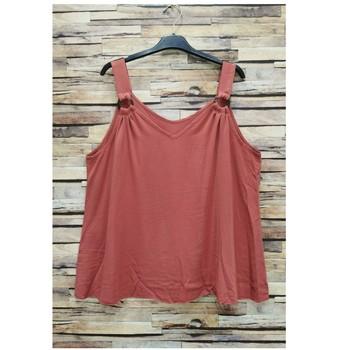 Υφασμάτινα Γυναίκα Μπλούζες Fashion brands 3841-RASPBERRY Ροζ