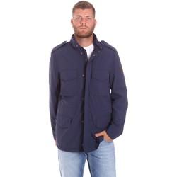 Υφασμάτινα Άνδρας Παρκά Lumberjack CM68821 002EU Μπλε