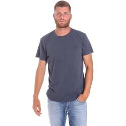 Υφασμάτινα Άνδρας T-shirt με κοντά μανίκια Lumberjack CM60343 021EU Μπλε