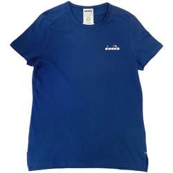 Υφασμάτινα Γυναίκα T-shirt με κοντά μανίκια Diadora 102175882 Μπλε