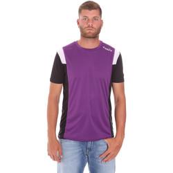 Υφασμάτινα Άνδρας T-shirt με κοντά μανίκια Diadora 102175719 Βιολέτα