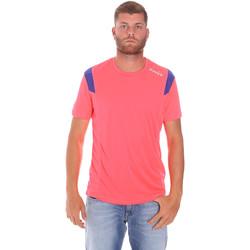 Υφασμάτινα Άνδρας T-shirt με κοντά μανίκια Diadora 102175719 Ροζ