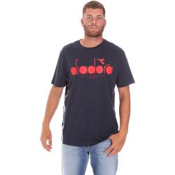 Υφασμάτινα Άνδρας T-shirt με κοντά μανίκια Diadora 502176630 Μπλε