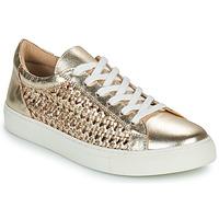 Παπούτσια Γυναίκα Χαμηλά Sneakers Cosmo Paris WELLY Gold