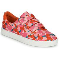 Παπούτσια Γυναίκα Χαμηλά Sneakers Cosmo Paris HAJIA Ροζ / Fleuri