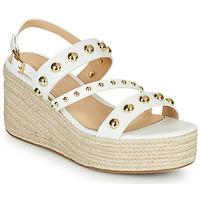 Παπούτσια Γυναίκα Σανδάλια / Πέδιλα Cosmo Paris HOURA Άσπρο / Gold