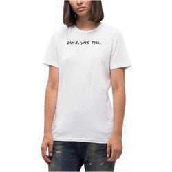 Υφασμάτινα Γυναίκα T-shirt με κοντά μανίκια Diesel T-FLAVIA-A Άσπρο