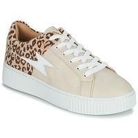 Παπούτσια Γυναίκα Χαμηλά Sneakers Vanessa Wu VENDAVEL Beige / Leopard