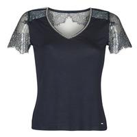 Υφασμάτινα Γυναίκα T-shirt με κοντά μανίκια Morgan DEXIA Marine