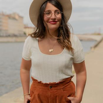 Υφασμάτινα Γυναίκα Μπλούζες Céleste ERABLE Ecru