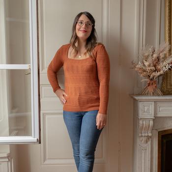 Υφασμάτινα Γυναίκα Πουλόβερ Céleste NYSSA Rouille