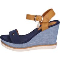 Παπούτσια Γυναίκα Σανδάλια / Πέδιλα Enrico Coveri BH490 Μπλε